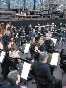 музыканты оркестра Арены Вероны
