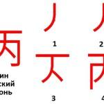 Иероглиф Бин