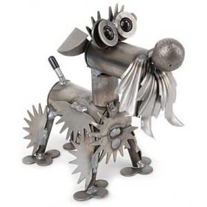 металлическая собака