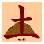 земля иероглиф