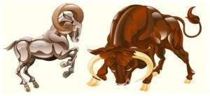 коза и бык