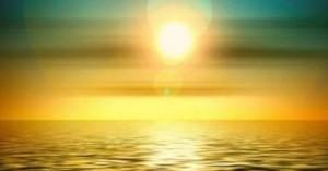 вода и солнце