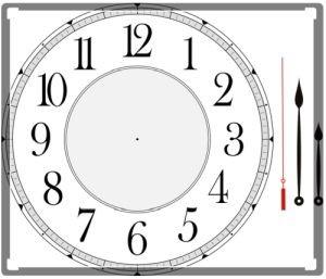 пустые часы